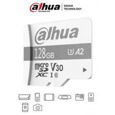 DAHUA TF-P100/128 GB - Dahua Memoria Micro SD de 128 GB UHS-I/ C10/U3/V30/A2/ Velocidad de Lectura 100 MB/s/ Velocidad de Escritura de 60 MB/s/ Especializada para Videovigilancia