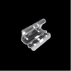 ITMG-67-112EZ - Mini clip automático, para unir tramos de charola, con acabado Electro Zinc