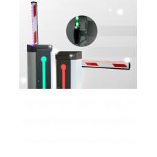 WEJOIN WJLBM3L - Brazo recto de 3 metros / Compatible con barrera LED izquierda