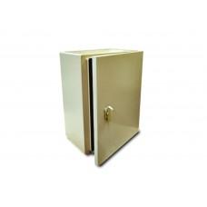 I - Gabinete Eléctrico tipo Himel con platina para interior 250X200X150 Color Beige Gabinete IP55