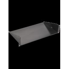"""SAXXON BR10 - Charola de Misceláneos de 10 x 19"""" / 2UR / Capacidad 22 Kg/ para racks y gabinetes"""