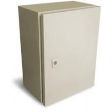 I - GABINETE IP55 COLOR BEIGE RAL CON PLATINA 300X250X150