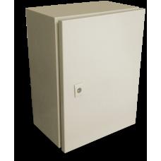 Gabinete Eléctrico tipo Himel con platina para interior 300X250X150 Color Beige Gabinete IP55