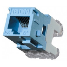 Belden Jack Modular Categoría 6+, RJ-45, Estilo Key Connect, Azul