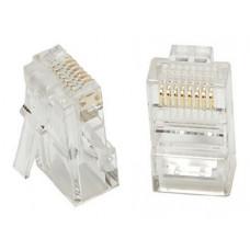 Dcm 454 Plug Rj45 Cat5e 8 Posiciones / Paquete 10 pz