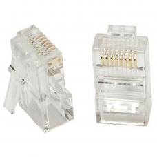 Dcm 454 Plug Rj45 Cat5e 8 Posiciones / Caja100pz