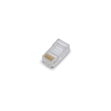 Conector PLUG RJ45 para cable UTP / CAT 6 / Paquete 100 piezas