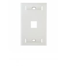 BELDEN AX102660 - Placa frontal / 1 Ventana / Color blanco