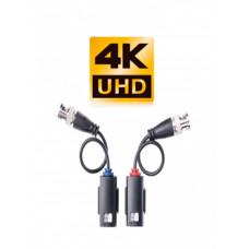 TT101FTZ- Par de transceptores pasivos/ transmisión de video HDCVI/ 200 metros a 4K/ 250 metros a 1080p / soporta TVI/ AHD