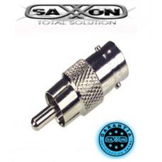 SAXXON PSUBR02 - Bolsa de 10 conectores de B NC hembra a RCA macho