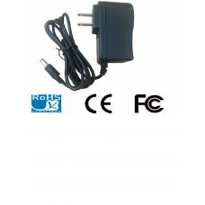 SAXXON PSU0502E - Fuente de poder regulada 5V CD / 2 Amperes / Usos multiples / CCTV / Acceso / Color negro