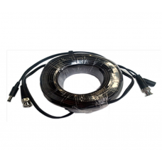SAXXON WB0120C - Cable de video y energía de 20 Mts / BNC Macho / 1 Conector macho y 1 conector hembra de energía / Para cámaras HD hasta 9W
