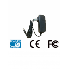 SAXXON PSU1202E - Fuente de poder regulada 12V DC / 2 Amperes / Cable de 1.2 Mts