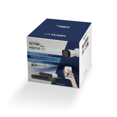 SAXXON - SXD135004 - SAXXON PRO SAX4108XHXKIT - KIT 8 CANALES HDCVI PENTAHIBRIDO 720P / H265 / 2CH IP ADICIONALES 8+2 / P2P / 8 CAMARAS BF2810T / IR 20M / IP67 / ACCESORIOS